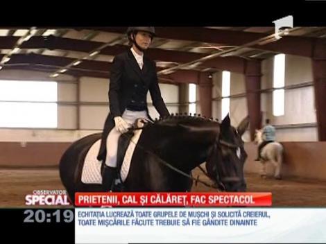 Special! Prietenii, cal și călăreț, fac spectacol la Transylvania Horse Show