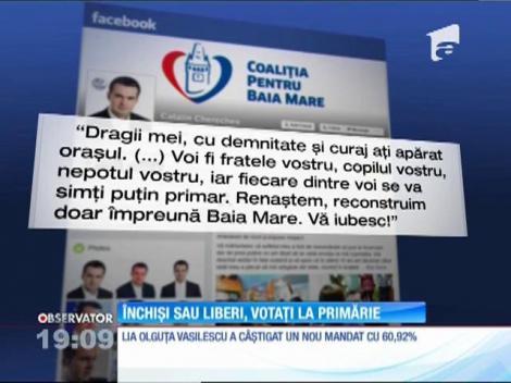 ALEGERI LOCALE 2016. În Baia Mare, Cătălin Cherecheş a aflat că a devenit pentru a doua oară primar, direct în celulă!