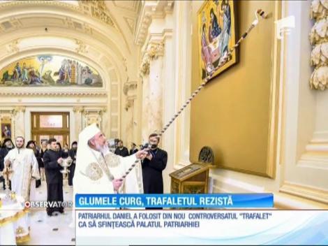 Preafericitul Daniel a sfinţit Palatul Patriarhiei cu trafaletul