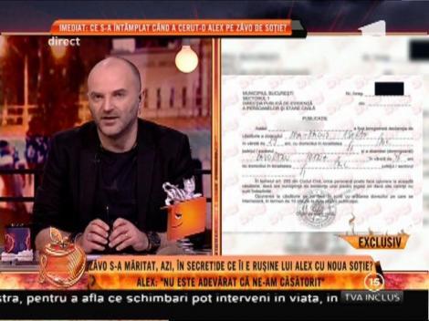 Iată dovada oficială ca Oana Zăvoranu s-a căsătorit!