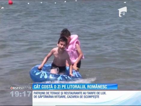 Cât costă o zi pe litoralul românesc