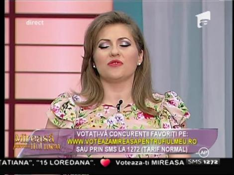 Mirela Boureanu Vaida, înlocuită la Mireasă pentru fiul meu