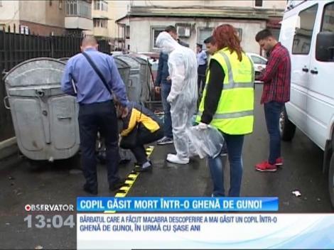 Un bebeluş a fost găsit mort într-o ghenă aflată în centrul oraşului Târgu-Jiu