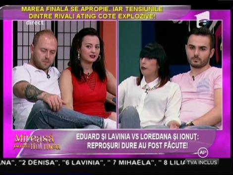 """Loredana, despre Lavinia şi Eduard: """"Eu nu le fac nimic, dar ei se iau de mine în continuu!"""""""