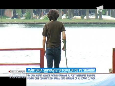 Mărturia arhitectului Roger Pop, unul dintre supravieţuitorii  teribilului accident naval de pe lacul Snagov
