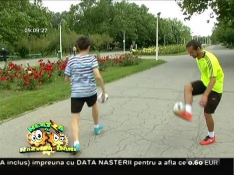 Freestyle football, arta de a jongla cu mingea