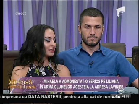 Liliana, admonestată serios de Mihaela pentru gumele la adresa Lavniei!