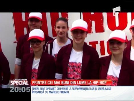 Special! Opt tineri din Oradea vor participa la campionatul mondial de hip-hop