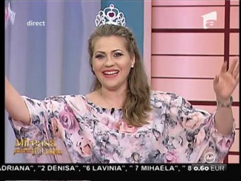 Mirela Boureanu Vaida a primit cadouri de la concurenţi pentru bebeluş!