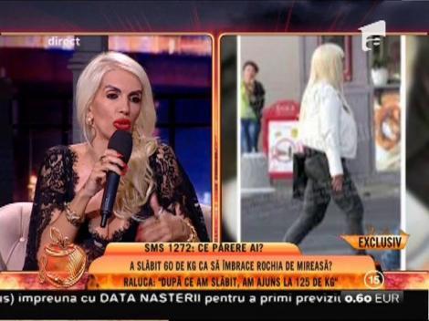 """Raluca Bădulescu a slăbit zeci de kilograme, iar acum vrea să se mărite: """"Vreau două, trei rochii de mireasă"""""""