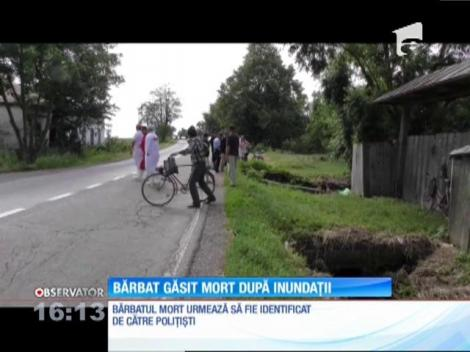 O bătrână din județul Suceava a găsit un bărbat într-un șanț