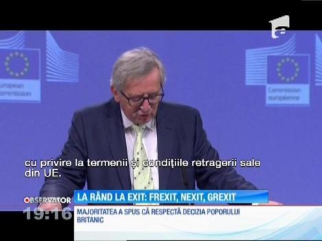 FREXIT, NEXIT ŞI GREXIT.  Francezii, olandezii şi grecii se gândesc să-şi facă şi ei exit-ul din Uniunea Europeană