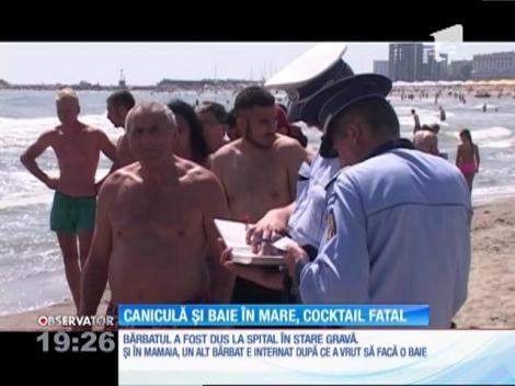 Tragedie pe plajă. Martorii au fugit imediat şi au anunţat salvamarii