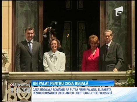 Casa Regală a României ar putea primi în folosinţă gratuită, pentru 99 de ani, Palatul Elisabeta
