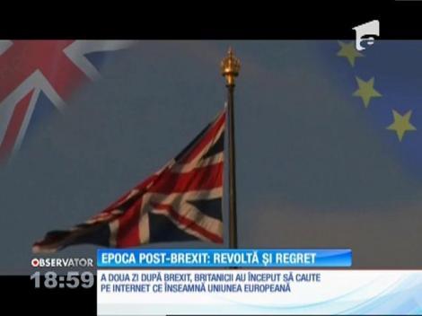 Tinerii din Marea Britanie sunt nemulțumiți de decizia de a părăsi Uniunea Europeană