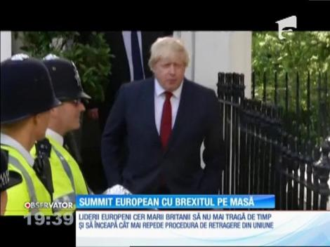 Uniunea Europeană vrea să pronunţe divorţul de Marea Britanie în regim de urgenţă