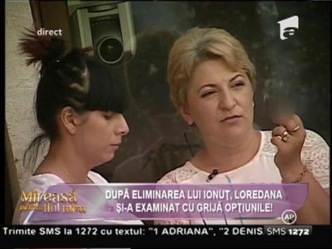 După eliminarea lui Ionuţ, Loredana şi-a examinat cu grijă opţiunile!
