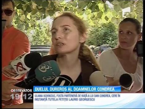 Cele două femei din viaţa milionarului Dan Condrea luptă în instanţă pentru custodia copilului de 10 ani