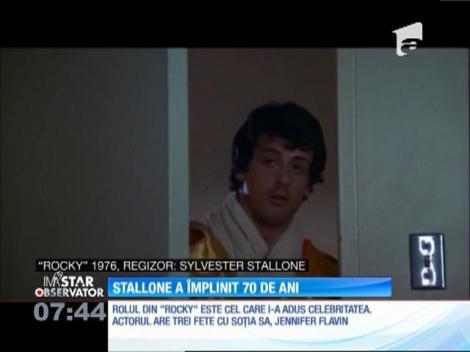 Sylvester Stallone a împlinit 70 de ani