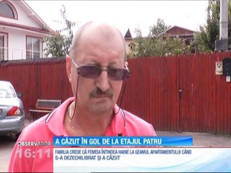 O femeie de 85 de ani din Ploieşti a murit după ce a căzut de la etaj