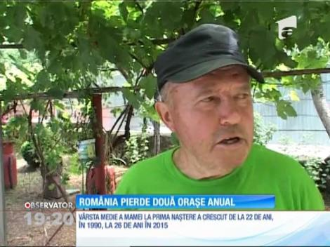 România îmbătrâneşte. Populaţia ţării noastre scade cu echivalentul a două oraşe, în fiecare an!