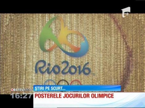 Posterele oficiale ale Jocurilor Olimpice s-au lansat la Rio de Janeiro