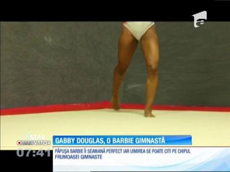 Gimnasta Gabby Douglas a primit o papuşă Barbie, după chipul şi asemananarea sa