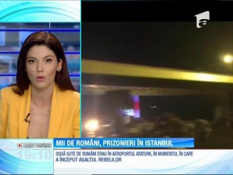Mii de români, blocați în Turcia