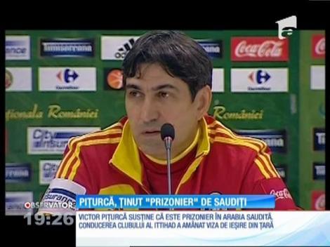 """Victor Piţurcă, ţinut """"prizonier"""" de arabi"""