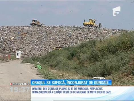 Încep controalele la depozitele de gunoi care înconjoară Capitala