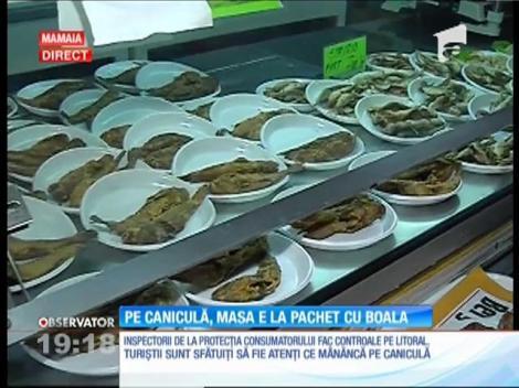 Inspectorii de la Protecţia Consumatorului din Constanţa au luat la puricat restaurantele şi şaormeriile