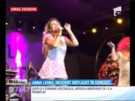 Anna Lesko a fost împuşcată cu un pistol cu bile în timpul unui concert