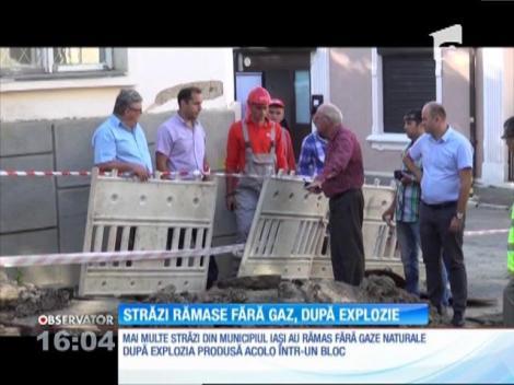 Mai multe străzi din Iași au rămas fără gaze naturale