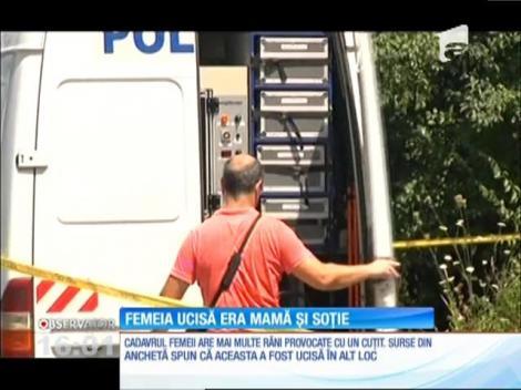 Femeia ucisă la marginea Ploieştiului era mamă și soție