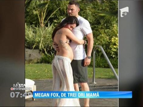 Megan Fox a devenit mamă pentru a treia oară