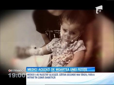 Medicii de la spitalul Victor Babeş din Capitală sunt acuzaţi de moartea unei fetiţe