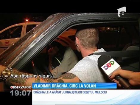 Actorul Vladimir Drăghia, prins băut la volan pe un filtru al poliției din Mamaia