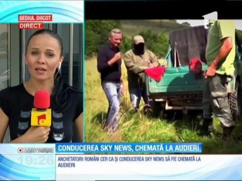 Procurorii DIICOT cer audierea conducerii Sky News