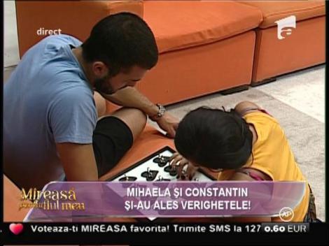 """Se apropie ziua """"Marelui DA"""". Mihaela şi Constantin şi-au ales verighetele!"""