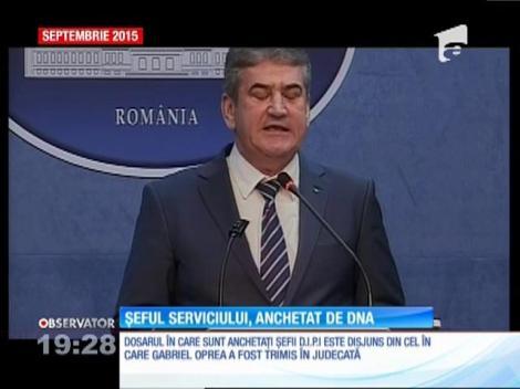 Şefii Serviciului Secret al Ministerului de Interne, anchetați de DNA