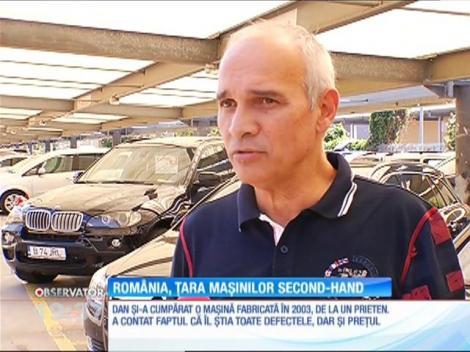România, țara mașinilor second-hand