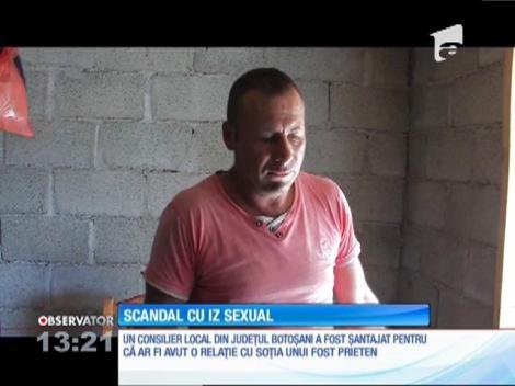 Consilier local din judeţul Botoşani, şantajat pentru că ar fi avut o relaţie cu soţia unui fost prieten