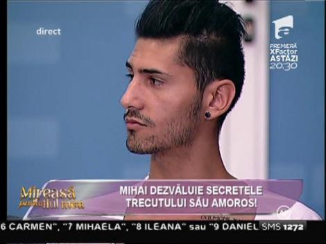 """Mihai, despre trecutul lui amoros: """"După șapte ani de relație, m-a înșelat!"""""""