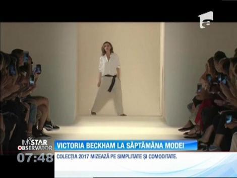 Victoria Beckham şi-a prezentat cea mai nouă colecţie la săptămâna modei de la New York