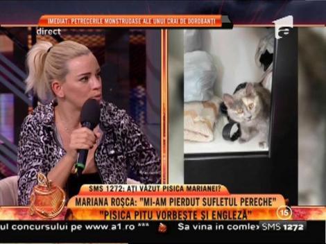 """Mariana Roșca: """"Mi-am pierdut sufletul pereche. Nu pot trăi fără el"""""""
