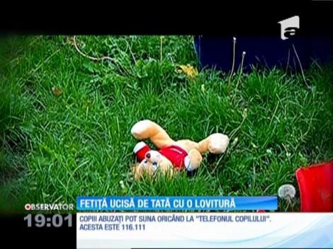 O fetiţă de cinci ani din Constanţa, ucisă de tatăl ei vitreg