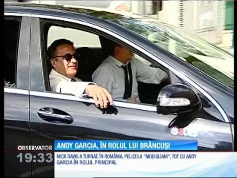 Andy Garcia, în rolul lui Constantin Brâncuşi