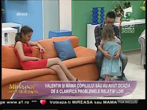 """Valentin: """"Indiferent de rezultatul testului de paternitate, voi avea grijă de fiica mea"""""""