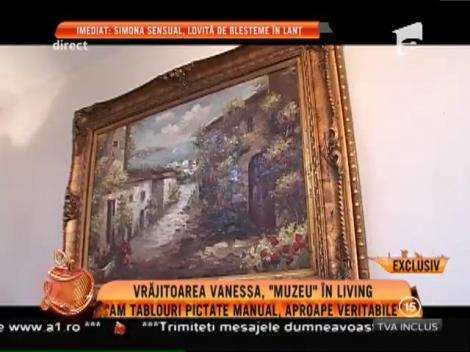 """Palatul vrăjitoarei Vanessa! Are un adevărat """"muzeu"""" în living"""