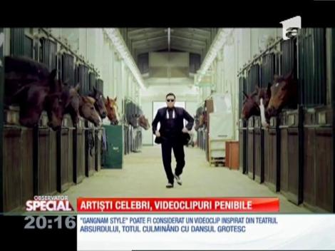 Special! Artiști celebri, videoclipuri penibile